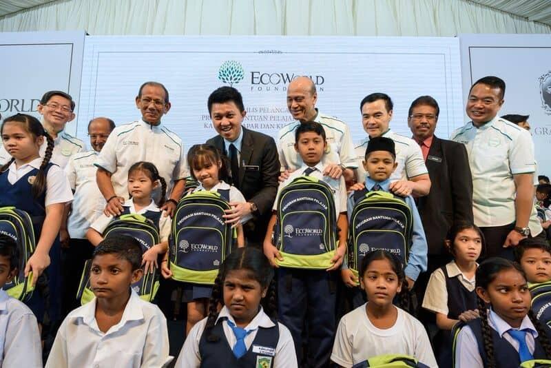 EcoWorld慈善基金会学生援助计划延伸至雪州7所新学校
