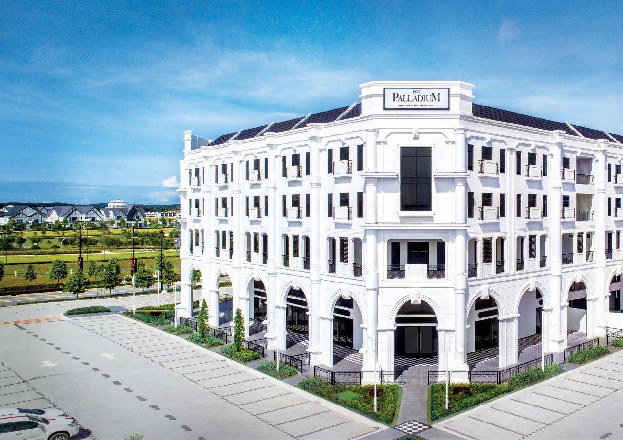 欧式风格高级商业特区Eco Palladium高尚生活新地标